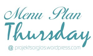 Menu Plan Thursday